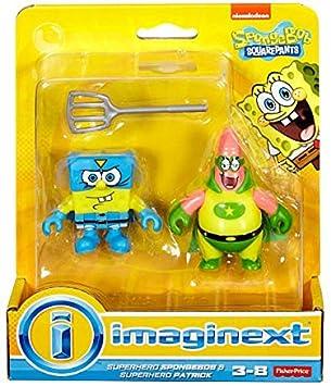 Imaginext, SpongeBob SquarePants, Superhero SpongeBob ...