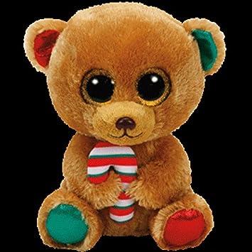 Ty Beanie Boos Bella, Osito Navidad, 40 cm (United Labels Ibérica 37254TY)