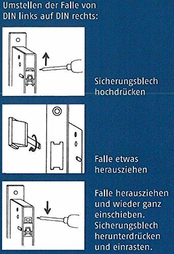 Import Allemagne ABUS 353772 Serrure tubulaire Mod/èle RR40