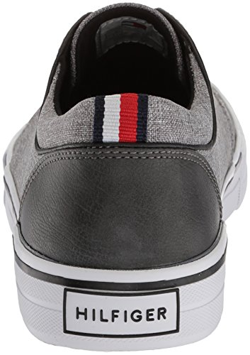 with mastercard for sale cheap sale nicekicks Tommy Hilfiger Men's Redd Oxford Dark Gray Fabric cheap sale big sale XHfYJ