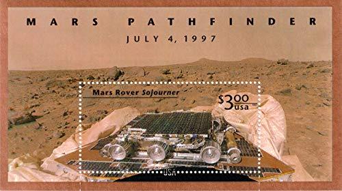 (US Stamp - 1997 Mars Pathfinder Stamp Souvenir Sheet - #3178)