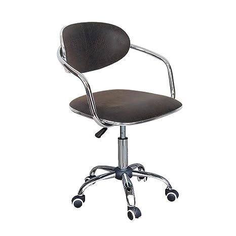 Amazon.com: MLX - Silla de ordenador pequeña, sillón ...
