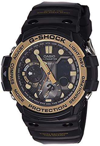 Casio G-Shock Master of G Smoke Dial Resin Quartz Men's Watch GN1000GB-1A (Gshock Watches Master Of G)