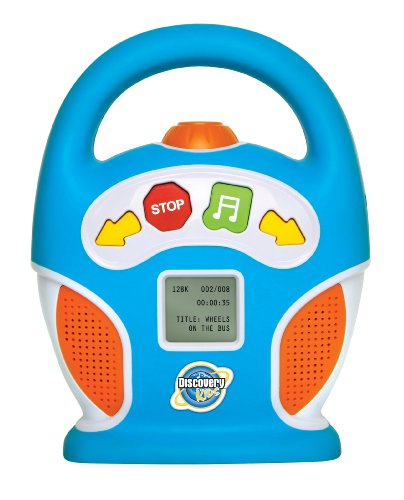 Discovery Kids 256MB Kids Digital Boombox MP3 Player by Discovery (Image #1)