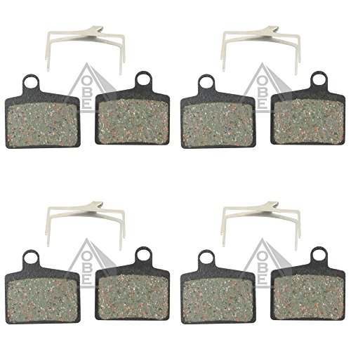 4 Pairs Kevlar Pads for Hayes Stroker Ryde Disc Brake Dyno MTB Down Hill XC Bike ()