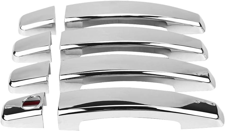 8 cubiertas para manija de puerta de coche para Chev/_rolet Cru/_ze 2008-2016