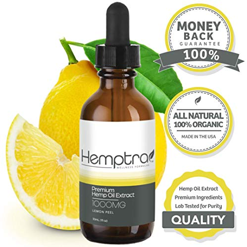 All Natural Premium Hemp Oil with Lemon Peel Extract. 1000mg for Anxiety and Pain Relief. 30ml Tincture ~ Ashwagandha Infused. Sleep Aid, Mood Enhancer, and Stress Reliever. 100% Organic | - Stress Capsule Reliever