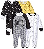 Gerber Baby Boys' 4-Pack Sleep 'N Play, Star, 6-9 Months: more info