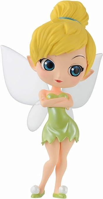 Banpresto Q posket Disney Tinker Bell Leaf Dress Figure Figurine 14cm 2set