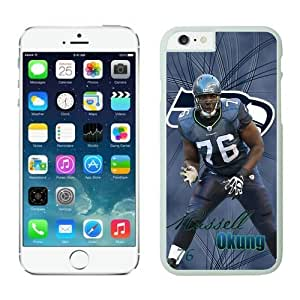 Seattle Seahawks Russell Okung 76 Case Cover For SamSung Galaxy S4 Mini NFL Cases White NIC13661