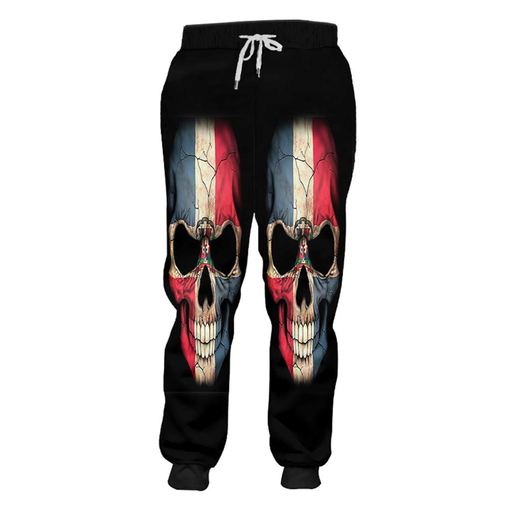 Pantalones de chándal para Hombre Gyms 3D Pantalones Harem ...