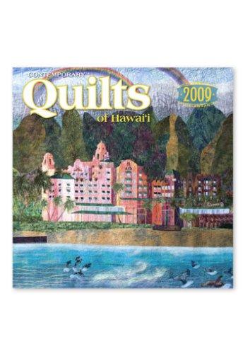 2009 Twelve Month Calendar - Contemporary Quilts of Hawaii 2009 12 Month Deluxe Calendar