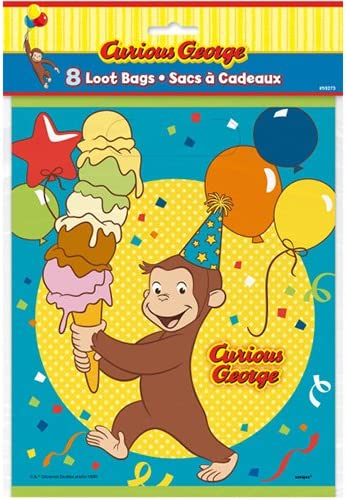 Amazon Co Jp おさるのジョージ ルートバッグ 8枚入り キュリアスジョージ ビニール袋 ビニールバッグ Curious George ラッピング 袋 バック ラッピングバッグ ギフト プレゼント パーティー キャラクター 雑貨 グッズ 即日 翌日発送 おもちゃ