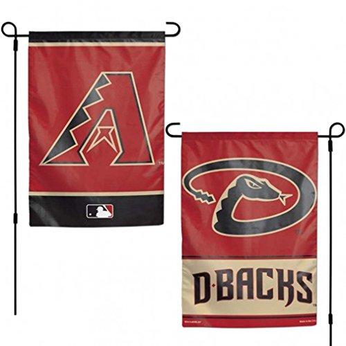 (Wincraft Arizona Diamondbacks WC Garden Flag Premium 2-Sided Banner Outdoor Baseball)