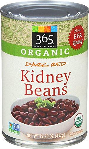 Organic Dark Red Kidney Beans, 15.25 Ounce ()