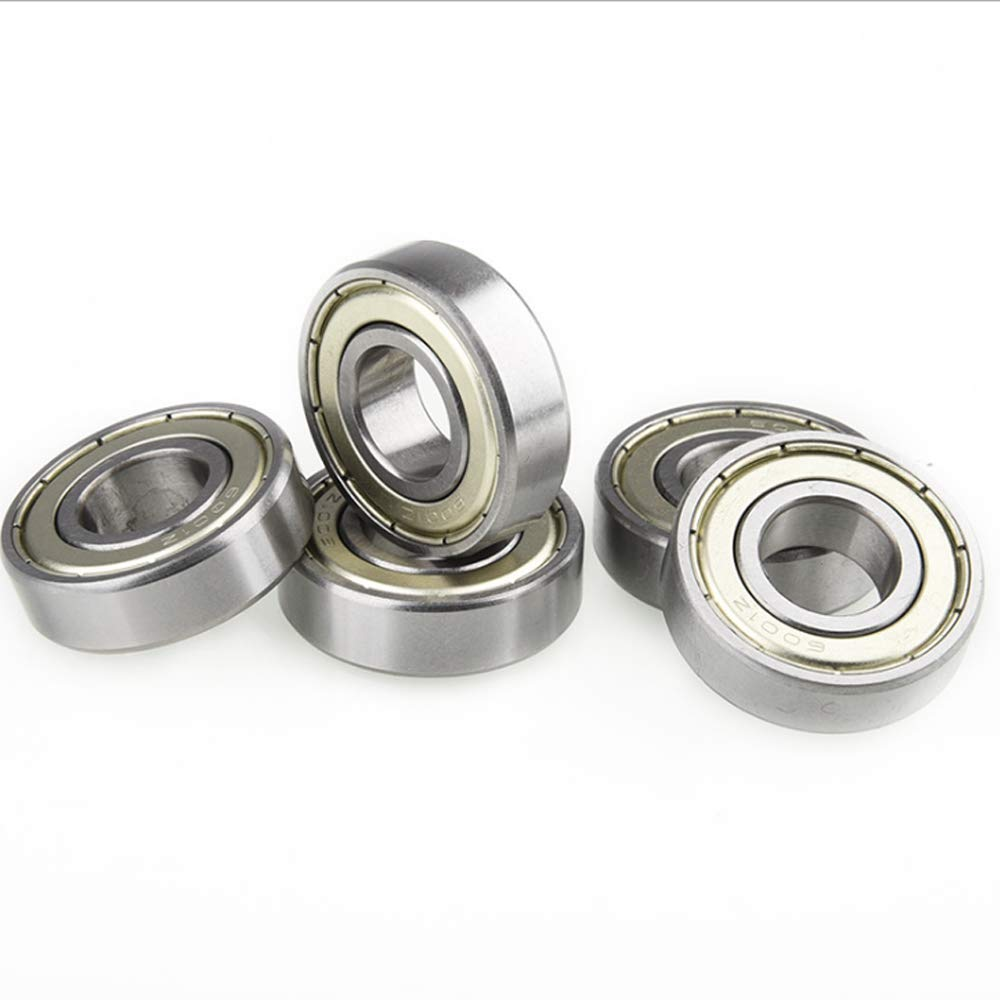 Skates 8mm x 22mm x 7mm Sealed Miniature Deep Groove Ball Bearings for Skateboards SYHL 10 Pack 608-z Scooters Ball Bearing