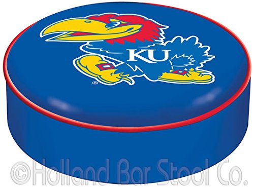 NCAA Kansas Jayhawks Bar Stool Seat Cover
