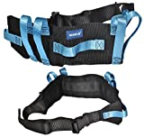 Transfer Gait Belt with 7 Loop Hand Grips & Easy Release Plastic Buckle. Also Available in Metal Buckle.
