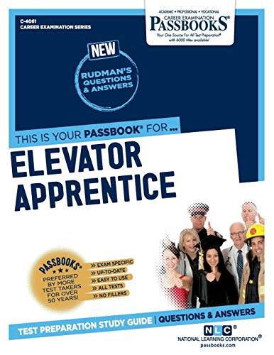 Elevator Apprentice (Career Examination) Paperback – 1 Jan. 2020