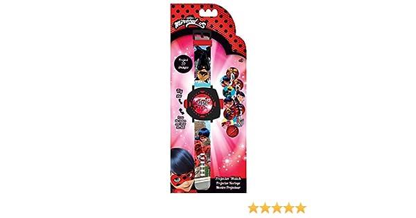 Lady Bug- Reloj de Pulsera Digital con proyector 20 imagenes ...