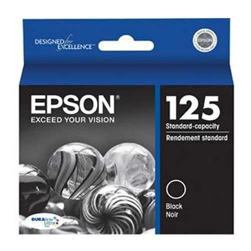 NEW Epson OEM Ink T125120 (BLACK) (1 Cartridge) (Inkjet Supplies)
