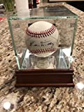 Bill Dickey Single Autographed Signature Baseball Withnew York Yankees Special Case - PSA/DNA Authentic Aa38591