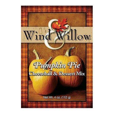 Cheesecake Cheeseball - Wind and Willow Pumpkin Pie Cheeseball & Dessert Mix - 4 Ounce (4 Pack)