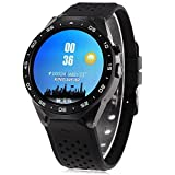 IDS Home Kingwear kw88 Smart Watch with 3G Quad Core Support Bluetooth SIM Card WiFi GPS Heart Rate Monitor for Android 5.1