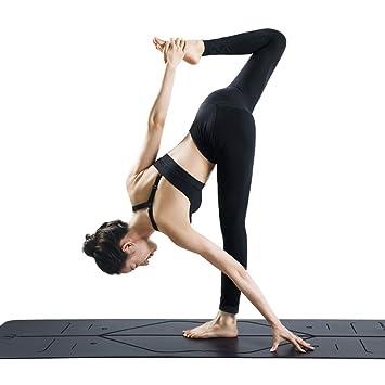 MXK Estera De Yoga De Caucho Natural De 0.5mm PU - Sistema ...