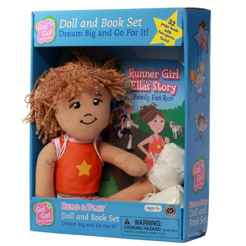 Download Runner Girl Ella's Story: Family Fun Run: Read & Play Doll and Book Set (Go! Go! Sports Girls) ebook