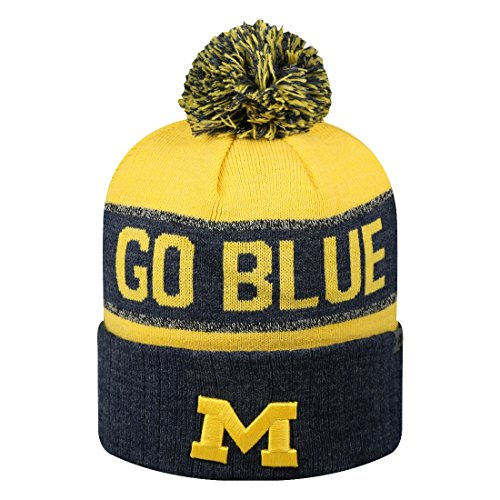 Michigan Knit Hat - Michigan Wolverines NCAA Top of the World