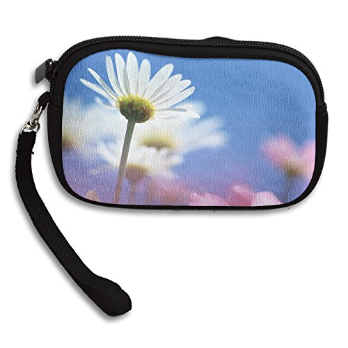 Free Spinner White Flower Women's Wonderful Coin Purse Storage Package Wallet Zipper Change Holder Bag Key Wristlet Wallet Handbag Wallet Zipper Mini - Diagram Nose Anatomy