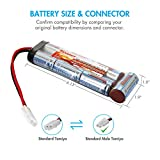 Tenergy 8.4V 3800mAh Flat NiMH Battery Pack for