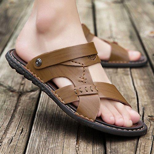 6608 De Playa Zapatillas Hombres Verano Fondo Sandalias Zapatillas Grueso Khaki Skid Sandalias sandals TwYPBCqxx