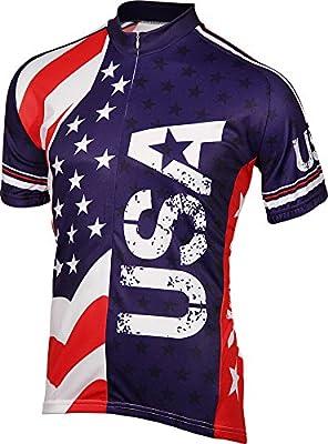 BDI Men's USA Cycling Jersey
