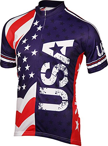 Amazon.com   BDI Men s USA Cycling Jersey   Clothing 6d349d930