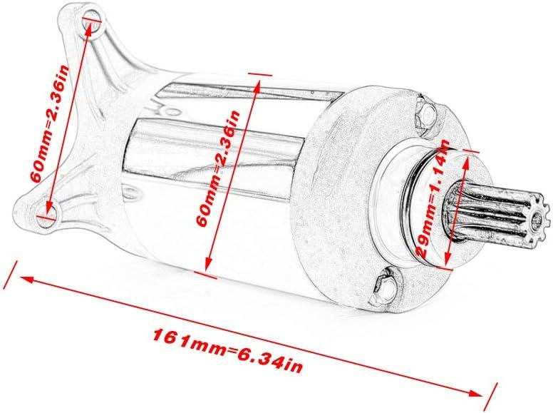 Motocicleta motor de arranque eléctrico para Yamaha SRV250 ...