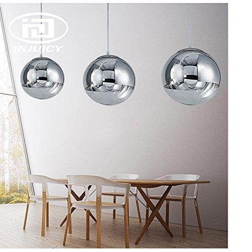 Silver Ball Pendant Light