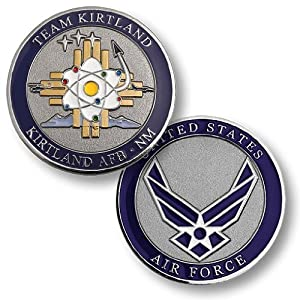 Kirtland Air Force Base, NM Challenge Coin