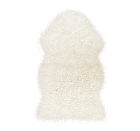 Ikea 302 290 77 Tejn Faux Sheepskin Ivory