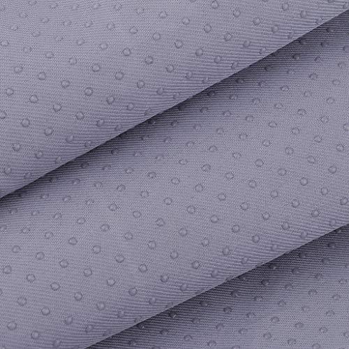 SM SunniMix 1 Yard Anti Slip Non Slide Craft Sofa Upholstery Fabric Sewing Material 59 inch Width - Gray