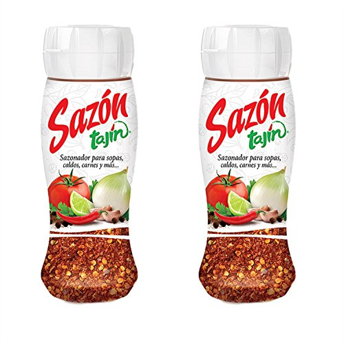 Sazón Tajín Mexican Seasoning 2.8 ounce (Pack of 2) by Tajin