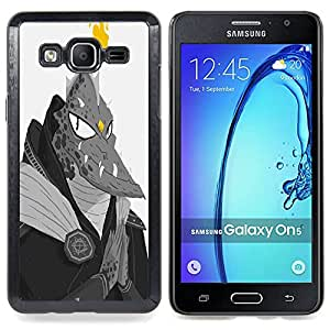 - Monster Lizard Man Dragon Ufo Fire Alien - - Snap-On Rugged Hard Cover Case Funny HouseFOR Samsung Galaxy On5 SM-G550FY G550