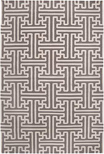 - Surya by Smithsonian ACH-1702 Hand Woven Geometric Area Rug, 9-Feet by 13-Feet