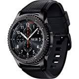 Samsung - Gear S3 Frontier Smartwatch 46mm - AT&T 4G LTE Dark Grey SM-R765A (Certified Refurbished) (Large)