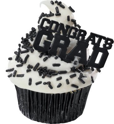 Congrats Grad Cupcake Picks (24-Pack)]()