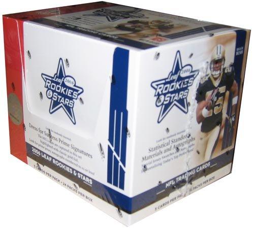 2006 Leaf Rookies & Stars Football HOBBY Box - 24p5c