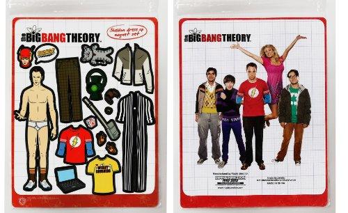 Big Bang Theory Sheldon Cooper Dress-Up Magnet Set