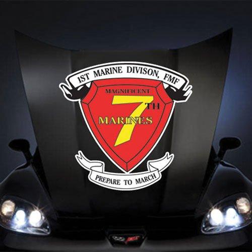 (Marines USMC 7th Marine Regiment SSI 20