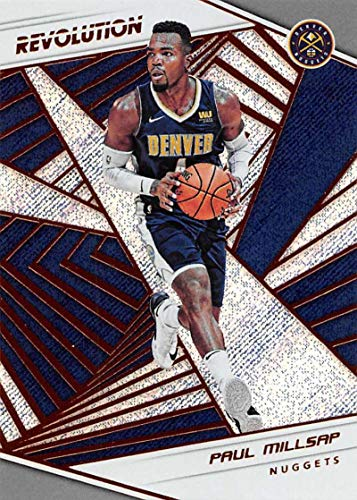 2018-19 Panini Revolution Basketball #56 Paul Millsap Denver Nuggets Official NBA Trading Card By Panini